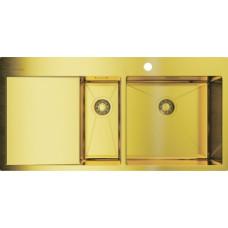 Кухонная мойка OMOIKIRI Akisame 100-2-LG-R (арт.4973090)