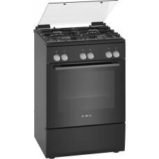 Газовая плита Bosch HXA090I60R черный