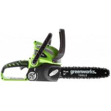 Аккумуляторная цепная пила Greenworks 40V G-max G40CS30