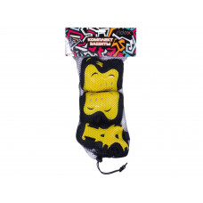 Комплект защиты Ridex Rocket M черный/желтый