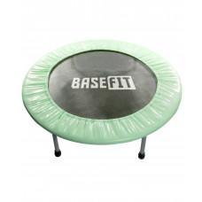 Батут BaseFit TR-101 81 см зеленый/мятный