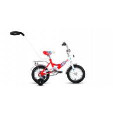 Велосипед Altair City Boy 12 белый/красный