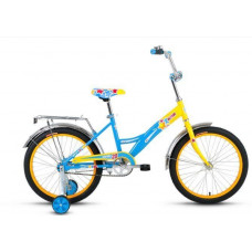 Велосипед Altair City 20 желтый/синий