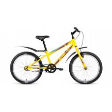 Велосипед Altair MTB HT 20 1.0 (2018) 10.5' желтый