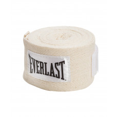 Бинт боксерский Everlast 4455PU белый