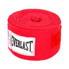 Бинт боксерский Everlast 4455RP красный