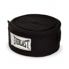 Бинт боксерский Everlast 4464BK черный