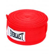 Бинт боксерский Everlast 4466RD красный