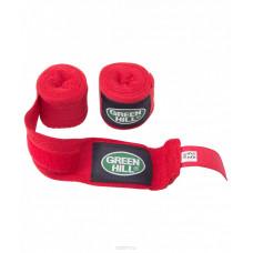 Бинт боксерский Green Hill BC-6235a красный